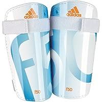 Adidas F50 Lite Shin Guard Size S (White/Blue)