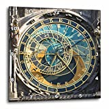 3dRose dpp_81259_3 Astronomical Clock, Orloj, Prague, Czech Republic EU06 THA0021 Tom Haseltine Wall Clock, 15 by 15-Inch