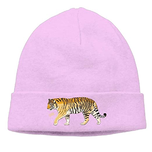 d3dc91aea15a32 Tiger Soft Knit Beanie Hat Warm Thick Winter Hat for Men Tiger ...