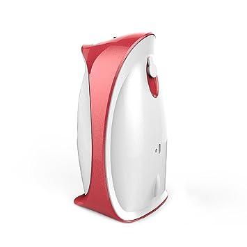EVERTOP Automático dispensador de Fragancia con batería de Litio, Mini Spray ambientador dispensador, dispensador de Aerosol Compacto, Color Rojo y Blanco, ...