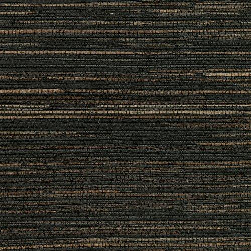 Kenneth James 2732-80081 Shandong Ramie Grasscloth Wallpaper, Charcoal
