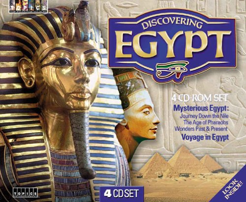 Discovering Egypt (4 CD-ROM) by Topics Entertainment