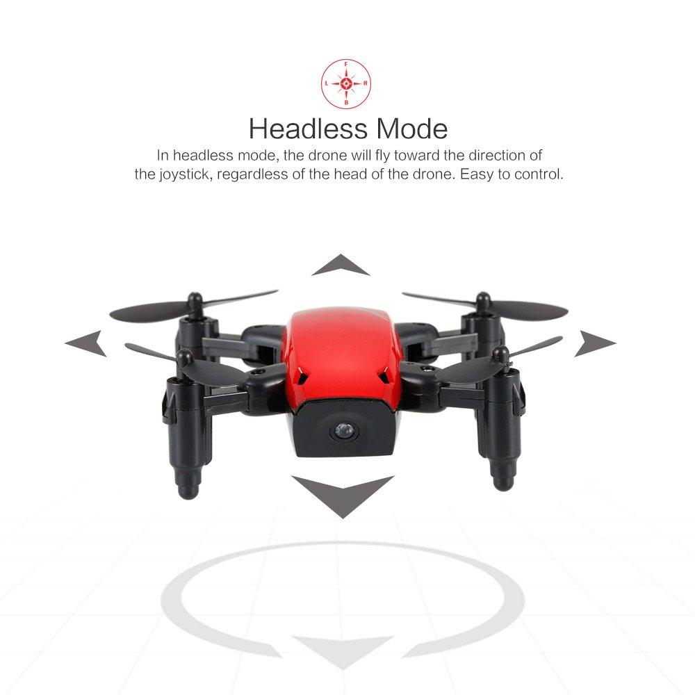Goolsky S9 2.4G 4CH 6 ejes de giroscopio Mini Drone Headless Mode One Key Return plegable RC Quadcopter RTF