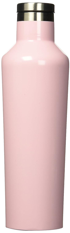 /Bouteille deau et bouteille thermos/ Acier inoxydable rose quartz /Triple isolation anti-fuite et incassable en acier inoxydable Corkcicle Canteen/ Taille M