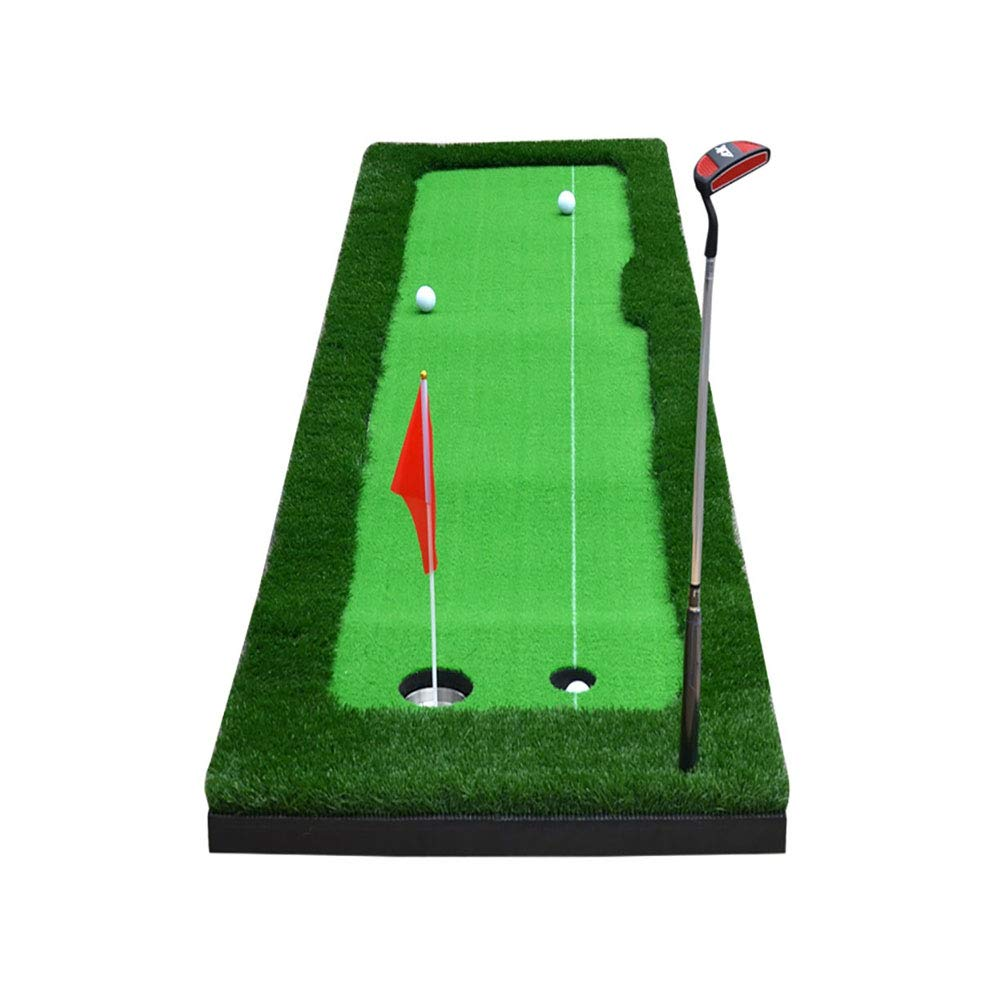 HJR GOLFフェアウェイ練習毛布 - 屋内ゴルフセット - グリーンパッティング練習サイズ:50/75×300cm A +(サイズ:A:50×300cm) B07H3SQ7NB