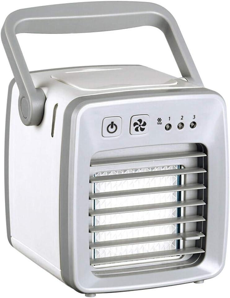 Aire acondicionado portátil FJZ Mini Ventilador de Enfriamiento USB Portátil Refrigerador de Agua Ventilador Humidificador Al Aire Libre Pequeño Ventilador de Aire Acondicionado pinguino aire acondici: Amazon.es: Hogar