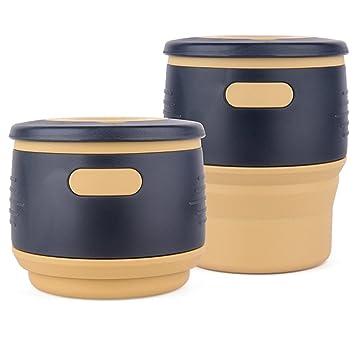 Amazon.com: BROQLI THECUP taza de café y té plegable de ...