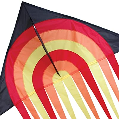 Fire Ball Stream Delta Kite: Sports & Outdoors