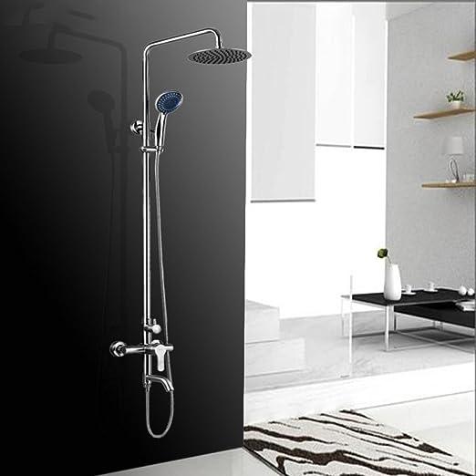 Accesorios de baño CF CF Set de Ducha Baño Acero Inoxidable ...