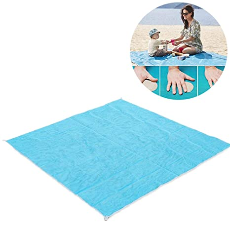 Sports & Entertainment 200 X 200cm Beach Mat Sand Free Magic Mat Beach Sandless Foldable Outdoor Waterproof Blanket Camping Picnic Folding Mat