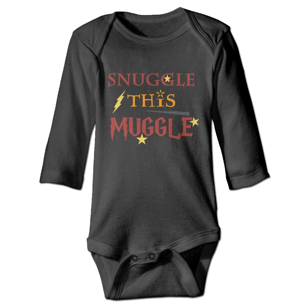 Wangyi Snuggle with Muggle Baby Jumpsuit Infant Boy Girl Clothes Cotton Romper Bodysuit Onesies