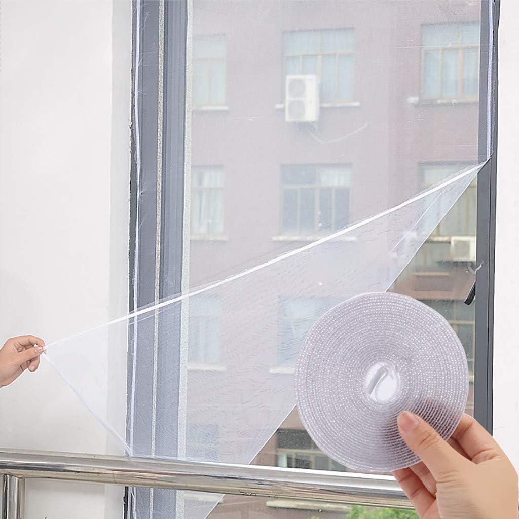 Orderking Insekt Moskitonetz Fliegengitter Fensternetz Netz Anti-Moskito-Fenstergitter Selbstklebende Moskitonetz Netzdekoration