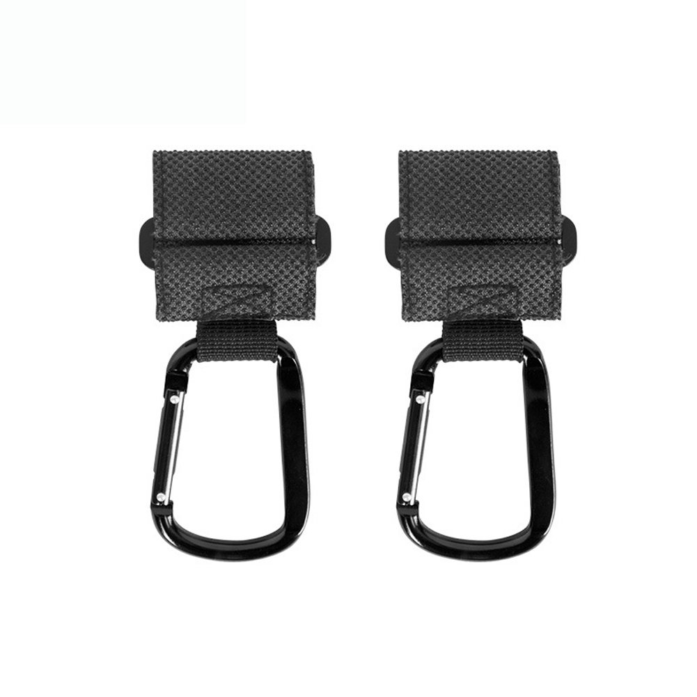 IDABAY 2 Pack Baby Stroller Hooks Car Seat Headrest Multi-Function Mommy Hooks to Hang Shopping & Bags Safely Groceries Universal Fit Hanger Organizer Backpacks Purses Shopping Grocery & Diaper Bags (