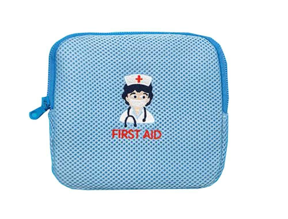 Portable Home-Travel Medication Keep Case Grooming Bag Organizer