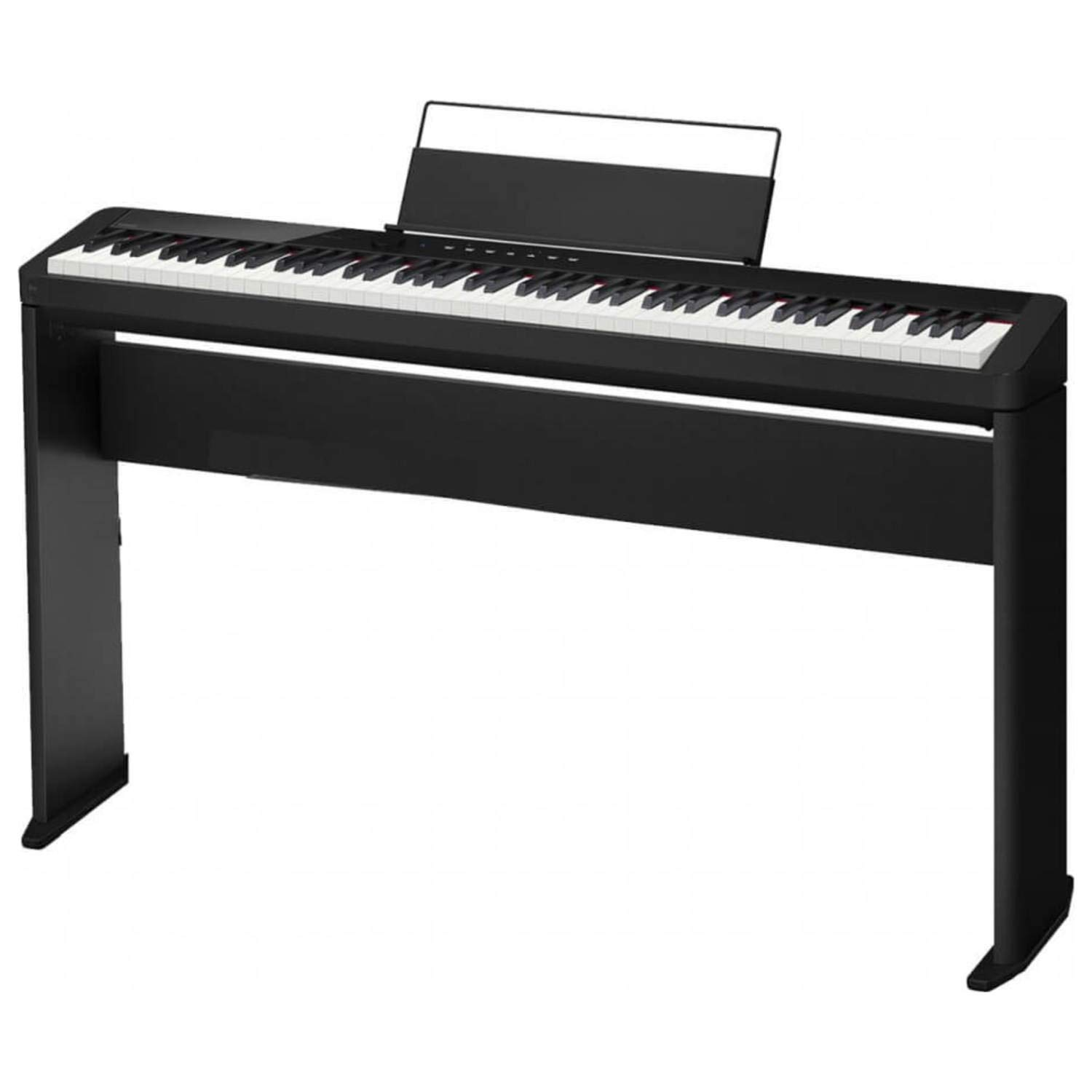 Casio Privia PX-S1000 Digital Piano - Black With Free Furniture Style Stand (Casio CS68) by Casio