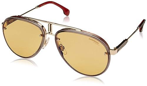 d12ed9eb3d Carrera Glory Gafas de Sol, Unisex, Black Gold, 58 mm: Amazon.com.mx ...