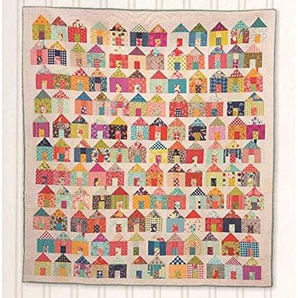 Jumble Village Pattern