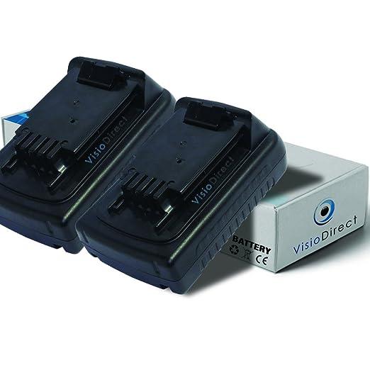 Lote de 2 baterías para Black y Decker LGC120 - Motocultor ...