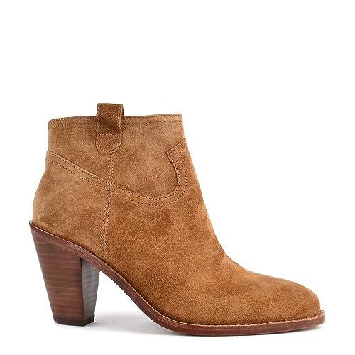 Ash Zapatos Ivana Russet Botines de Ante Mujer 41 EU Russet: Amazon.es: Zapatos y complementos