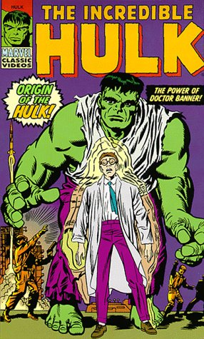 The Incredible Hulk   Origin Of The Hulk   The Power Of Doctor Banner  Vhs