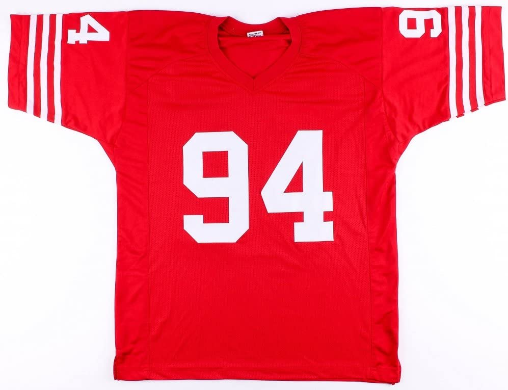 Charles Haley Signed 49ers Jersey (JSA COA) at Amazon's Sports ...