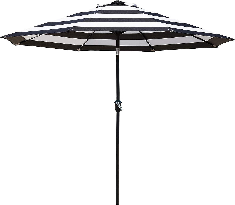 Grand Patio 9 FT Enhanced Aluminum Patio Umbrella