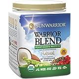 Sunwarrior - Warrior Blend, Raw, Plant-Based Protein, Natural, 20 Servings (1.1 lbs) (FFP)