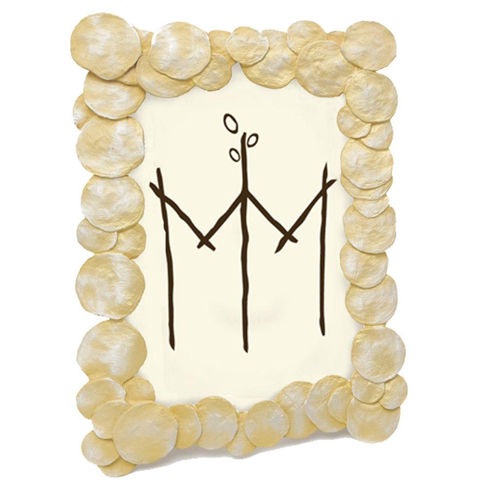 ''La Mer Shells'' 4x6 Frame by Michael Michaud for Silver Seasons Table Art by Michael Michaud