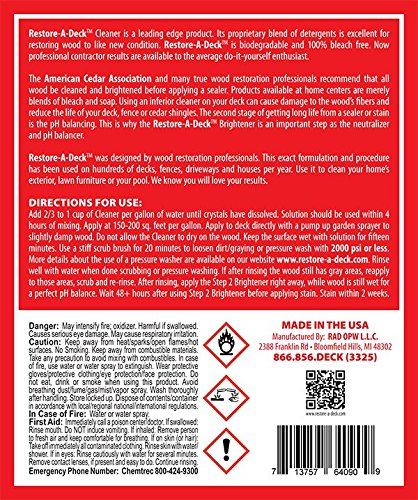 Restore-A-Deck Wood Cleaner by Restore-A- Deck (Image #1)