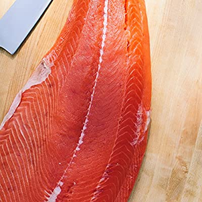 Wild Alaskan King Salmon Fillet 2.5lb side