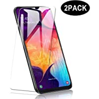 Vicstar [2 pcs] Samsung Galaxy A50 Screen Protector, 9H Hardness Premium Tempered Shatterproof Glass Screen Protector Film for Samsung Galaxy A50 …