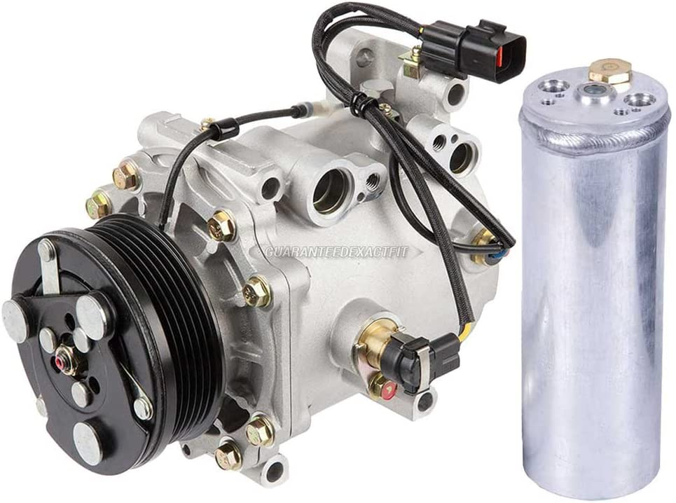 BuyAutoParts 60-86047R2 NEW For Mitsubishi Diamante 2000 2001 2002 2003 AC Compressor w//A//C Drier