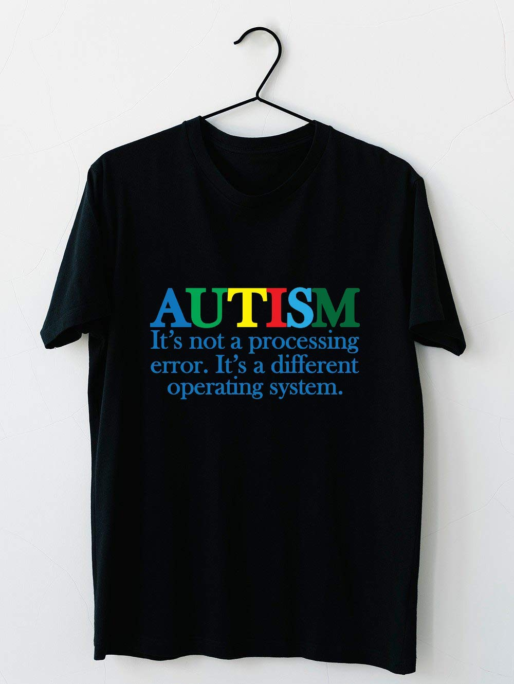 Autism Operating System 53 T Shirt For Unisex