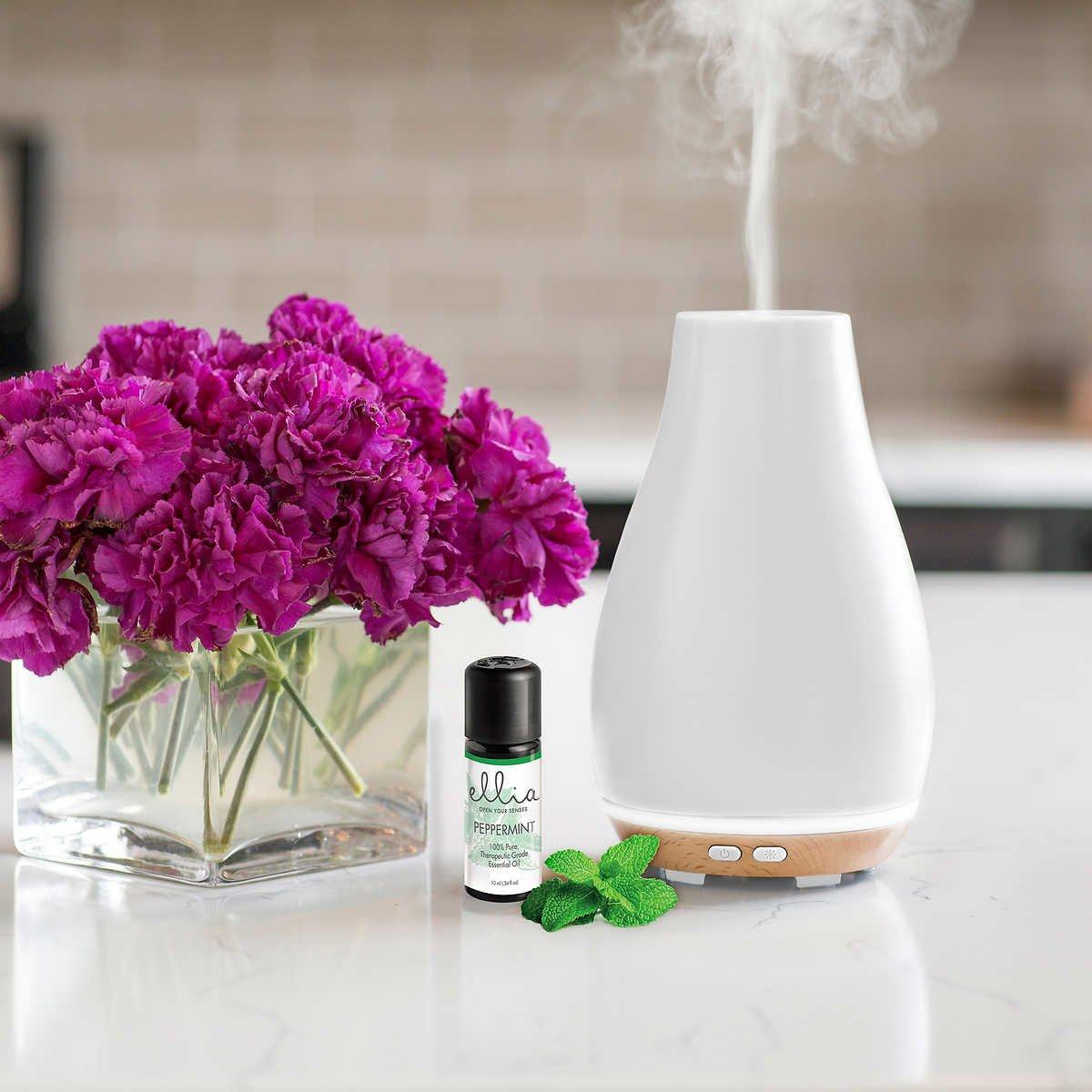 Blossom Essential Homedics Aromatherapy Diffuser Ellia