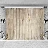 Kate 8x8ft Retro Wood Backdrops for Photography Old Wood Plank Background Customized Studio Photo Props