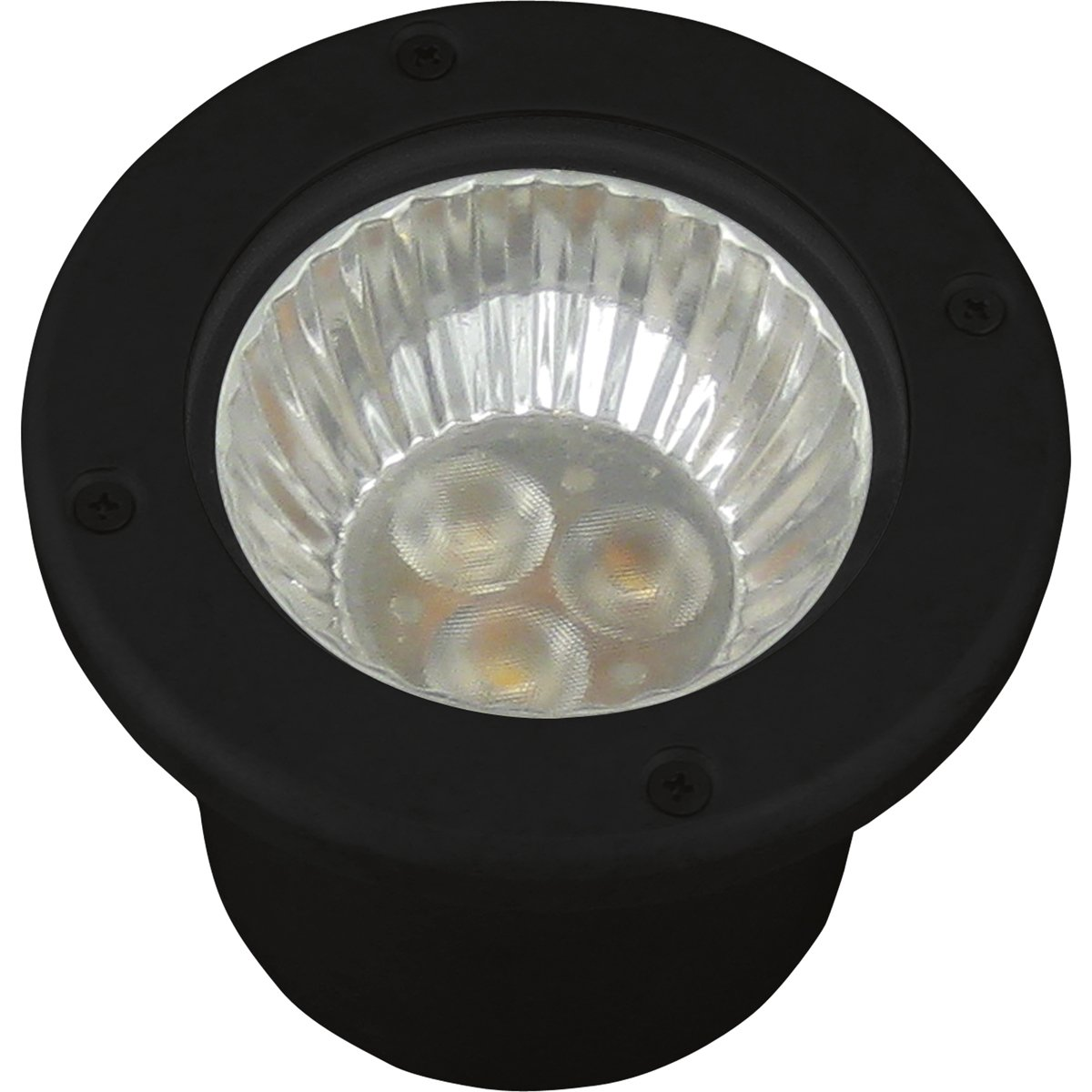 Progress Lighting P5295-31 LED Well Light, Black Finish by Progress Lighting