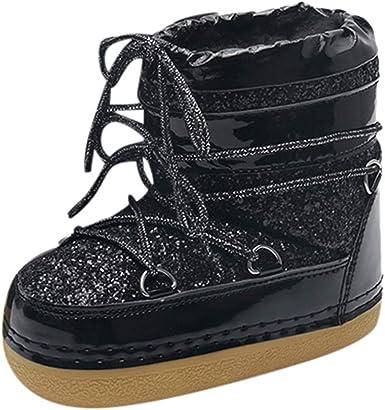 Teen Boys Girls Winter Snow Boots Warm