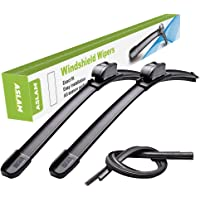 """Windshield Wipers,ASLAM Type-G 15""""+15"""" Wiper Blades:All-Season Blade for Original Equipment Replacement and Refills…"""