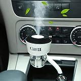 Becoler Home Steam Mini Humidifier 12V Car Auto Air Purifier Freshener Aroma Essential Oil Diffuser USB 50ml Warm Winter