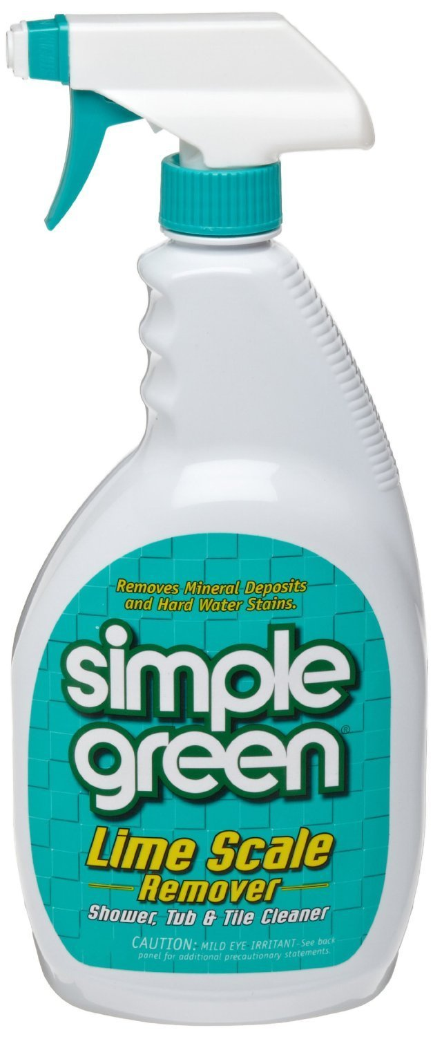 Simple Green 1710001250032 Institutional Organic Formula Lime Scale Remover in Trigger Spray Bottles (Pack of 12)