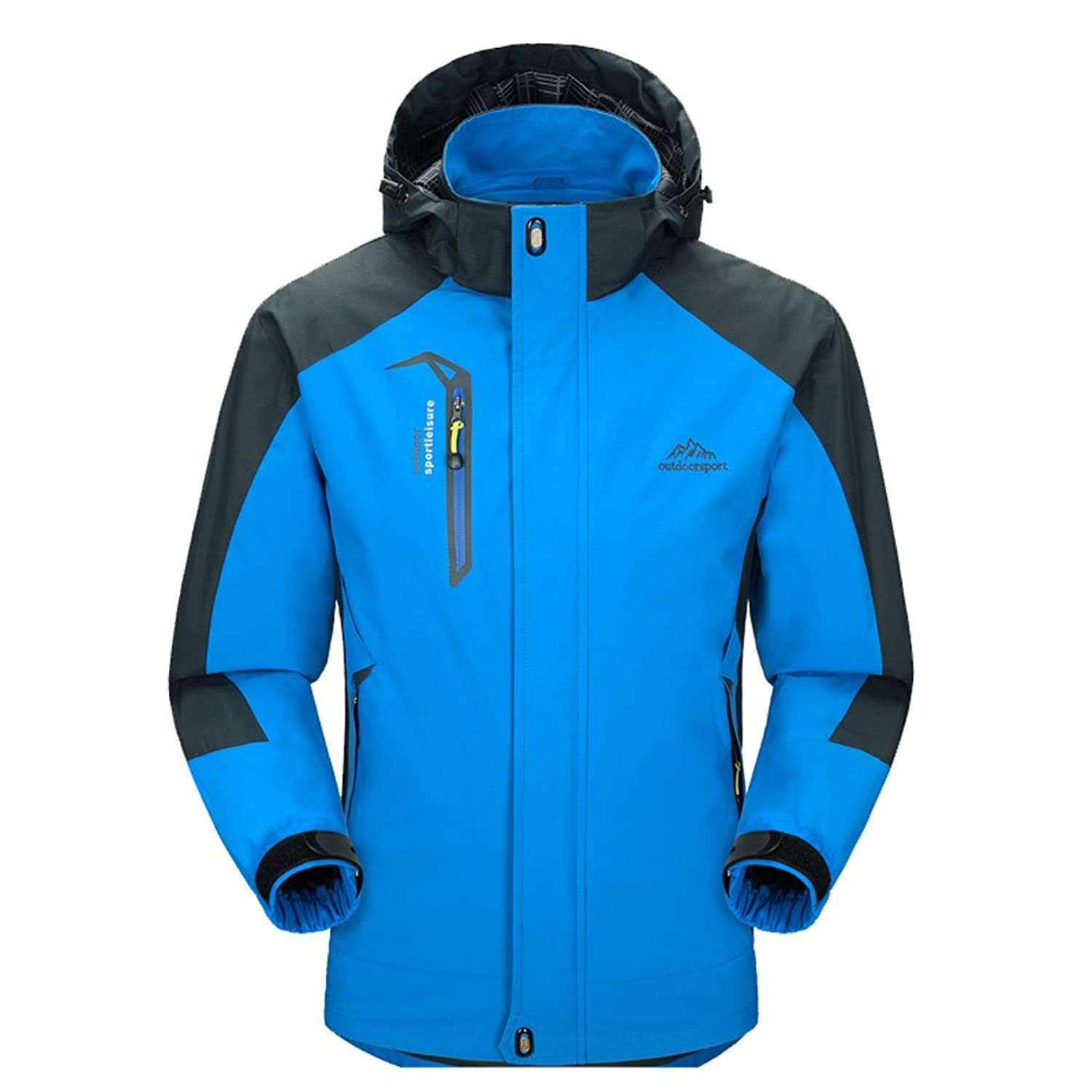 Amazon.com: Mountain Conqueror Mens Lightweight Jacket Coat ...