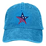 LETI LISW USA StarsClassicDad Hat Adult Unisex Adjustable Hat