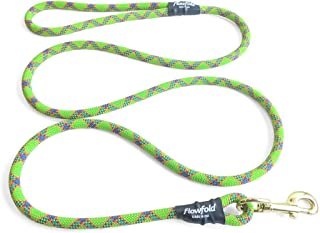 product image for Flowfold 4 ft. Recycled Climbing Rope Dog Leash, Extra Strong and Durable Dog Leash, 4-Feet (Green)
