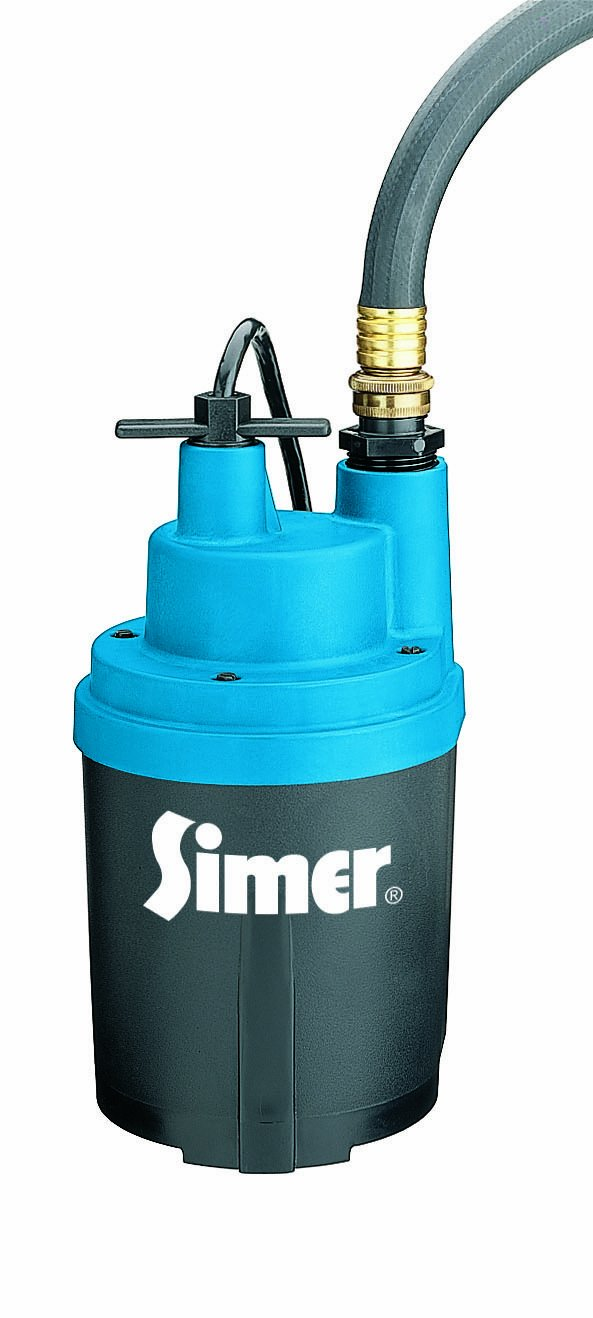 Simer 2330 Smart Geyser 1/4 HP Submersible Automatic Utility Pump by Simer