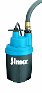 Simer 2330 Smart Geyser 1/4 HP Submersible Automatic Utility Pump