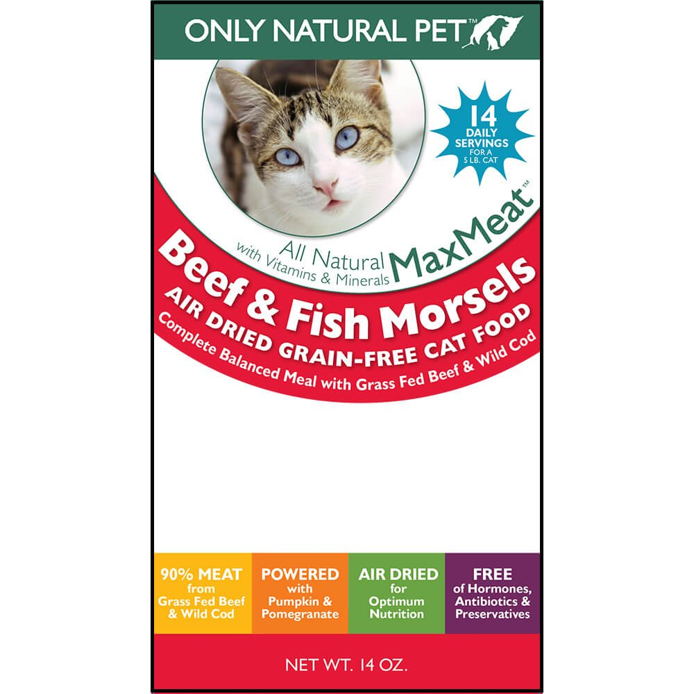 Only Natural Pet MaxMeat Air Dried Cat Beef & Cod 14 oz by Only Natural Pet (Image #4)