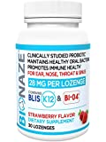 Bionaze Oral Sinus Probiotic w/BLIS K12 & BL-04 Contains The Latest clinically Proven strains That Prevent Illness and…