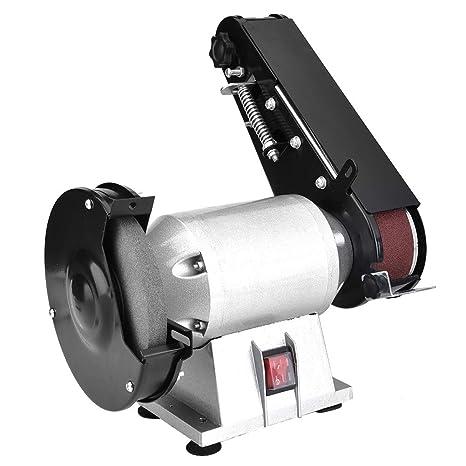 Fabulous Multi Functional Grinding Sanding Machine 250W Powerful Bench Grinder And Belt Sander Combination Grinding Sanding Machine 2X27 Inch Inzonedesignstudio Interior Chair Design Inzonedesignstudiocom