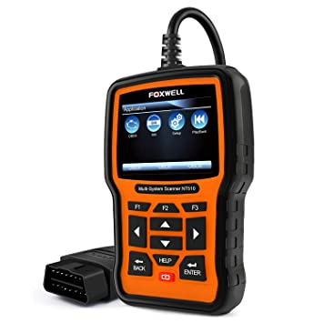 FOXWELL NT510 Pro Obd2 Scan Tool Auto Diagnostic Code Scanner with Oil  Reset/EPB/BRT/DPF/SRS/ABS/SAS for Buick, Chevrolet, Cadillac, GMC