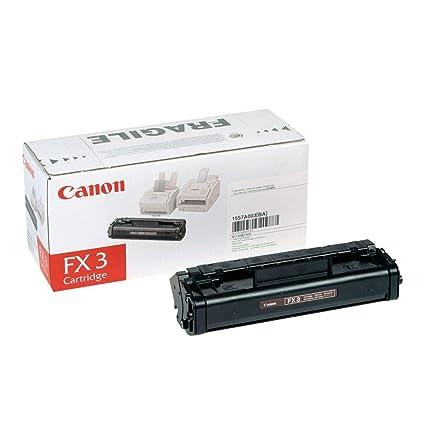 Canon FX 3 cartucho de tóner original negro para impresora láser i-SENSYS MultiPass L60,MultiPass L90 y FAX L200, L220, L240, L250, L260, L260i, L280, ...